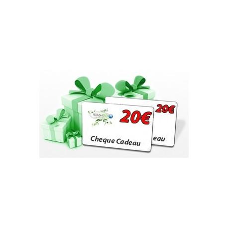 Cheque cadeau 20€