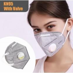 Masque KN95 avec valve