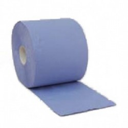 Papier absorbant de nettoyage bleu 3 plis